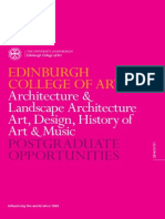 Pg Edinburgh College Art 2014