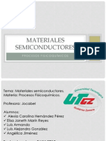 Materiales semicondusctores