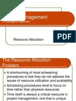 Resource Allocation II