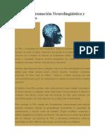 PNL o Programación Neurolingüística y Los Anclajes