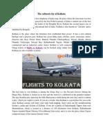 The Cultural City of Kolkata