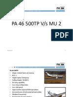 Comparison Pa 46 500tp Mu2