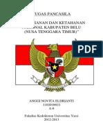 Tugas KWN (Pertahanan Dan Ketahanan Nasional) Anggi Novita 1102010022
