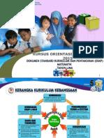 3. Taklimat Umum DSKP Matematik Tahun 5