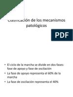 Clasificación de Los Mecanismos Patológicos