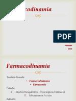 7. Farmacodinamia 2013
