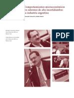 KosacoffRamos Comportamiento microeconomico BolTechint 2006