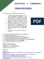 Língua Portuguesa - Provas Resolvidas & Comentadas