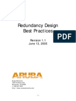 Aruba Redundancy Design Guide