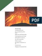 joshua-fiery being poem
