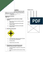 Driving Test Preparation 01