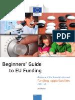 Beginners Guide to Eu Funding