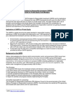 UNPRI Guide for Private Equity Fund Managers