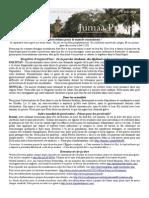 Bulletin de Jumaa Prayer 6 Juin 2014
