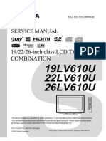 Service Manual for Toshiba TV/DVD Combo 26LV610U