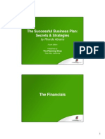 Microsoft Powerpoint Financial Projections986