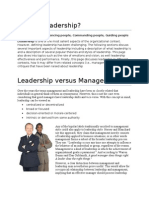 Leadership Thesis Book