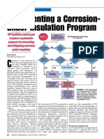 Implementing a Corrosion Under Insulation Program