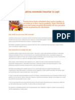 Gradinita Si Pregatirea Sistemului Imunitar La Copii