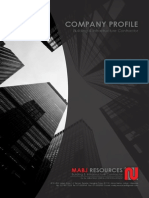 Company Profile (MABJ Resources)