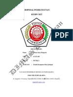 Proposal Pembuatan Jaringan RTRW NET Dimas 3 TKJ 1
