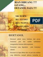 Bioetanol Biji Durian