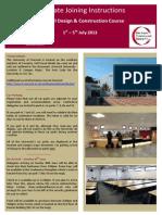 BTS Design Construction Course - Delegate Information 2013