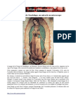 Notre Dame de Guadalupe Un Miracle Au Microscope