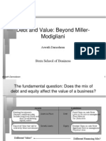 Leverage Value Presentation