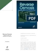 Reverse Osmosis Principles