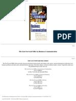 FF MBA - Business Communications