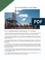 Avances y Resultados de Las Petroleras en Vaca Muerta