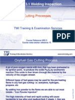 15. Thermal Cutting Processes