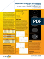 Comparison of quantitative measurements of 177Lu using SPECT/CT