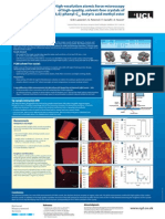 High-resolution atomic force microscopy of high-quality, solvent-free crystals of [6,6]-phenyl-C61-butyric acid methyl ester