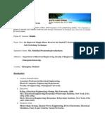 Damrong Speaker Bio Form 2008