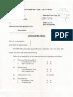 Affidavit of Costs