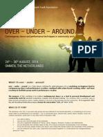 Infoletter - over-under-around Dance Workshop