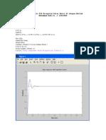 Desain Kendali PID Kecepatan Putar Motor DC Dengan Matlab
