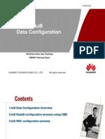 IuB Data Configuration
