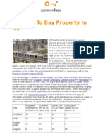 Reasons to Buy Property in NCR