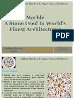 Indian Marble-Elegant Natural Stones