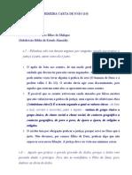 REFLEXÕES (10) NA PRIMEIRA CARTA DE JOÃO 3.7-10