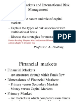 Capital Markets Managing Risk 2014