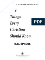 Five Things Every Christian Should Know STUDYGUIDE