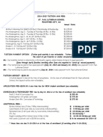 2014-15 tuition and fee sheet 6-4-2014