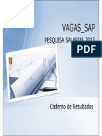 SAP Pesquisa Salarial 2013