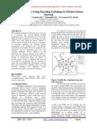 Lifetime Analysis Using Encoding Technique in Wireless Sensor Network