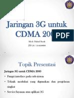 Jaringan 3G Untuk CDMA 2000