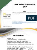 Encontro Nacional Anid- Utilizando Filtros Bgp